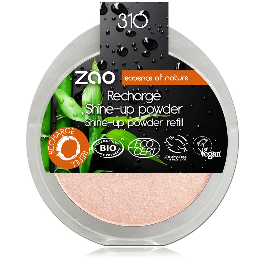 Recharge Shine-up Powder Champagne rosé ZAO